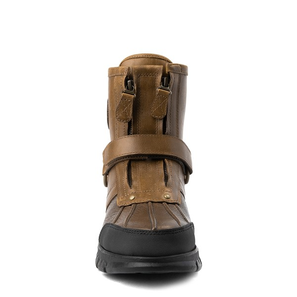 alternate view Mens Conquest Hi Boot by Polo Ralph Lauren - BrownALT4