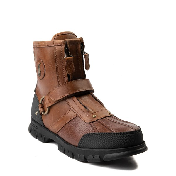 alternate view Mens Conquest Hi Boot by Polo Ralph Lauren - BrownALT1