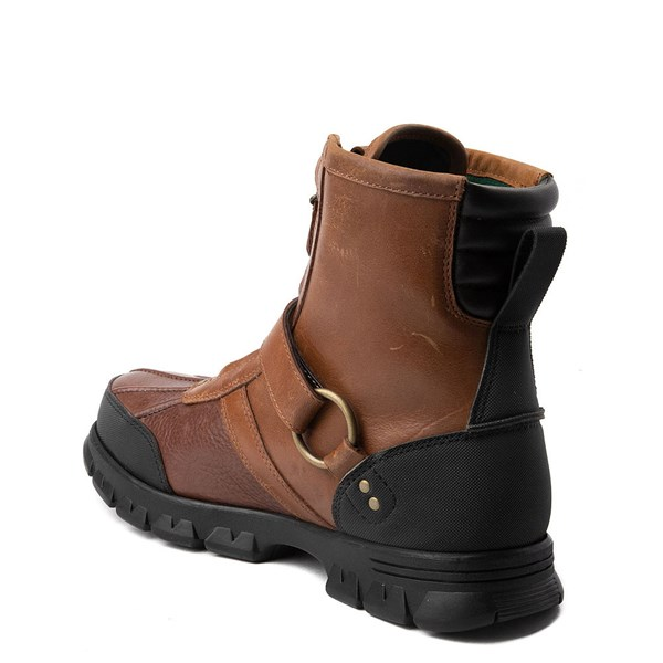 alternate view Mens Conquest Hi Boot by Polo Ralph Lauren - BrownALT2