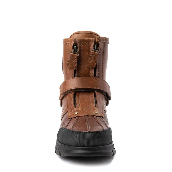 alternate view Mens Conquest Hi Boot by Polo Ralph Lauren - BrownALT4