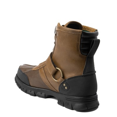 Alternate view of Mens Conquest Hi Boot by Polo Ralph Lauren - Brown