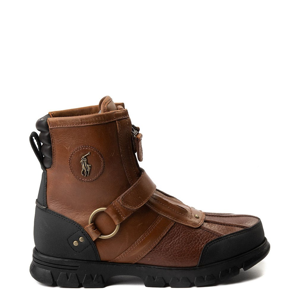 Mens Conquest Hi Boot by Polo Ralph Lauren - Brown