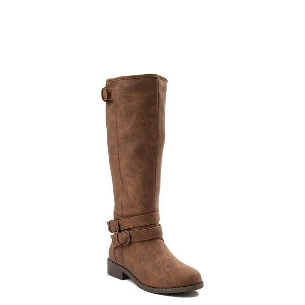 alternate view Madden Girl Karmin Riding Boot - Little Kid / Big Kid - BrownALT1