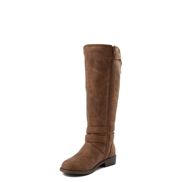 alternate view Madden Girl Karmin Riding Boot - Little Kid / Big Kid - BrownALT3