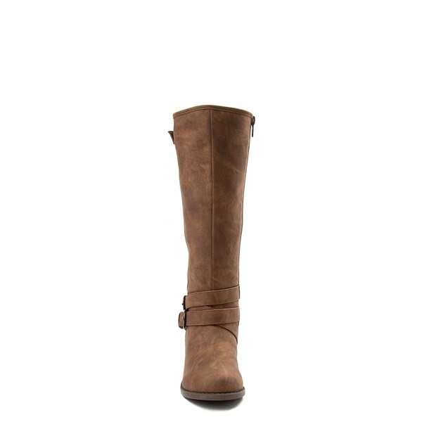 alternate view Madden Girl Karmin Riding Boot - Little Kid / Big Kid - BrownALT4