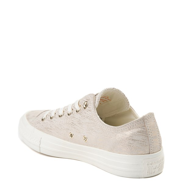 alternate view Womens Converse Chuck Taylor All Star Lo Brushed Suede SneakerALT2