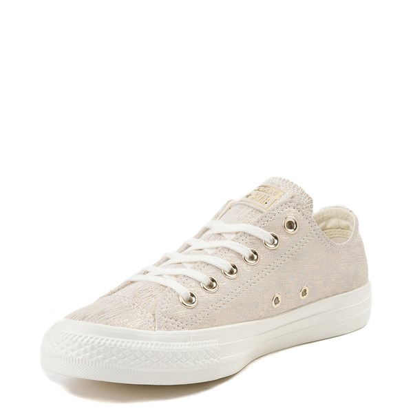 alternate view Womens Converse Chuck Taylor All Star Lo Brushed Suede SneakerALT3