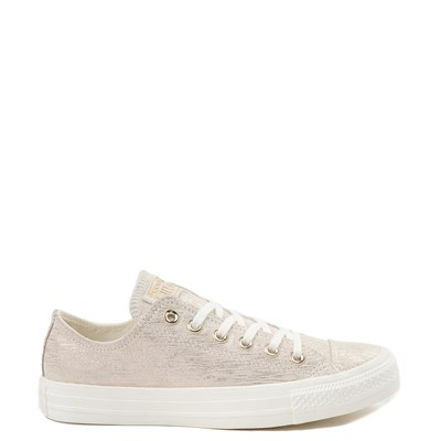 Main view of Womens Converse Chuck Taylor All Star Lo Brushed Suede Sneaker