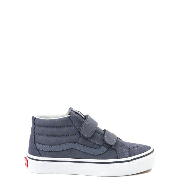 Vans Sk8 Mid Reissue V Gray Chex Skate Shoe - Little Kid / Big Kid