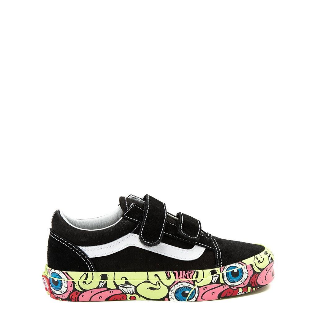 Youth/Tween Vans Old Skool V Brainwall Skate Shoe