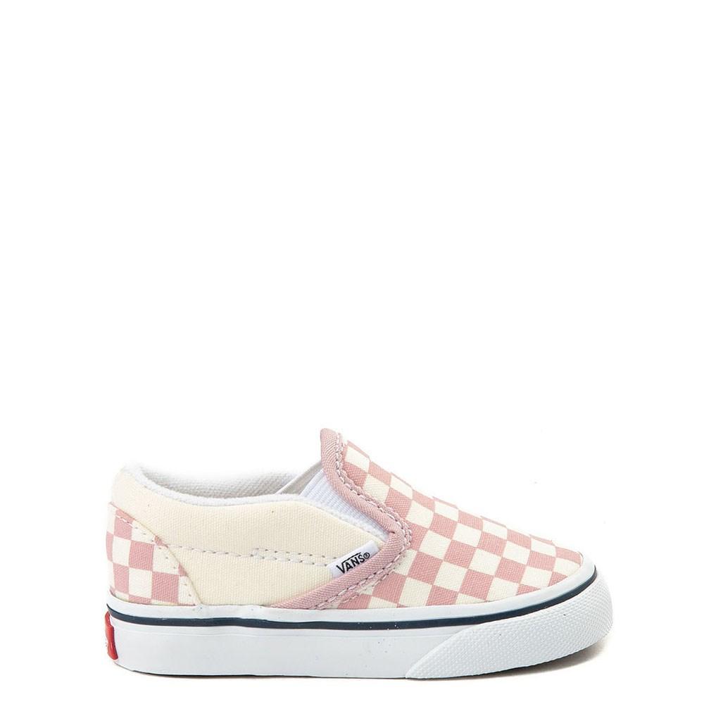 6c16cc48704 Vans Slip On Chex Skate Shoe - Baby   Toddler