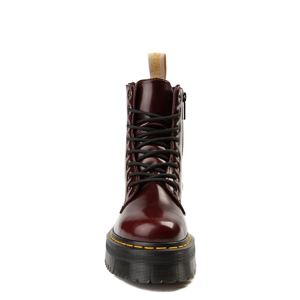 alternate view Dr. Martens Jadon Vegan Boot - BurgundyALT4