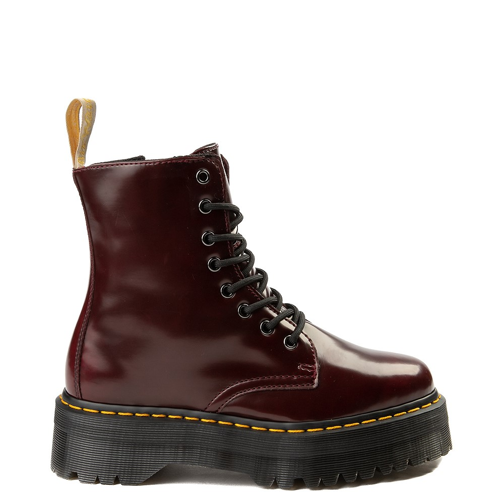 Dr. Martens Jadon Vegan Boot - Burgundy