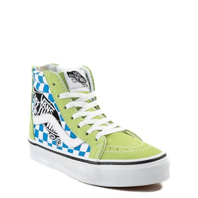 Alternate view of Youth Vans Sk8 Hi Zip Patch Skate Shoe