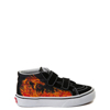Youth Vans Sk8 Mid Reissue V Dragon Flame Skate Shoe