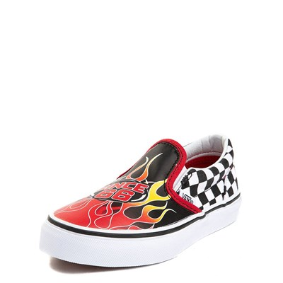 Alternate view of Youth/Tween Vans Slip On Race Flame Skate Shoe