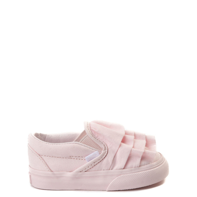 Toddler Vans Slip On Ruffle Skate Shoe