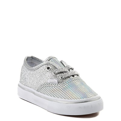 Alternate view of Toddler Vans Authentic Glitter Skate Shoe