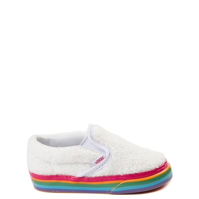 Toddler Vans Slip On Rainbow Skate Shoe