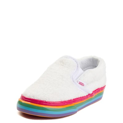 Alternate view of Toddler Vans Slip On Rainbow Skate Shoe