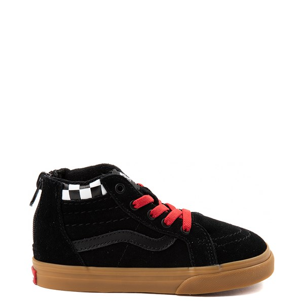Default view of Vans Sk8 Hi Zip MTE Skate Shoe - Baby / Toddler