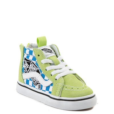 Alternate view of Toddler Vans Sk8 Hi Zip Patch Skate Shoe