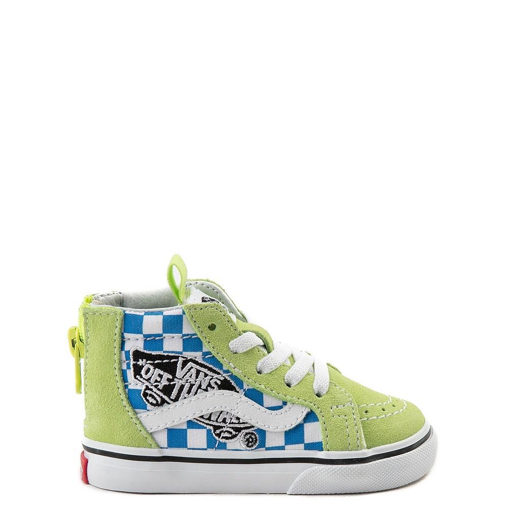 Toddler Vans Sk8 Hi Zip Patch Skate Shoe
