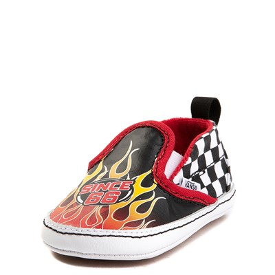 Alternate view of Crib Vans Slip On Race Flame Skate Shoe