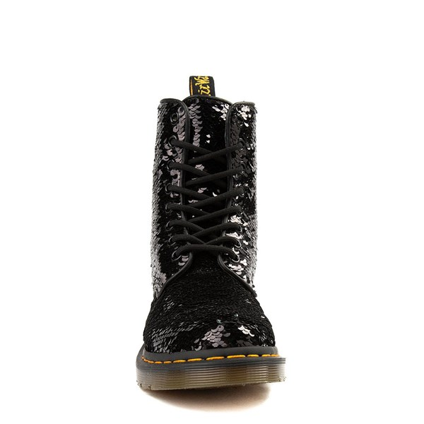 alternate view Womens Dr. Martens Pascal 8-Eye Two-Tone Sequin BootALT4