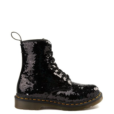 Main view of Womens Dr. Martens Pascal 8-Eye Two-Tone Sequin Boot