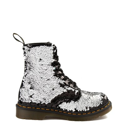 Alternate view of Womens Dr. Martens Pascal 8-Eye Two-Tone Sequin Boot