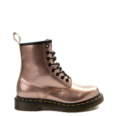 Main view of Womens Dr. Martens Pascal 8-Eye Vegan Metallic Boot