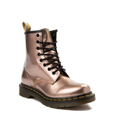 Alternate view of Womens Dr. Martens Pascal 8-Eye Vegan Metallic Boot