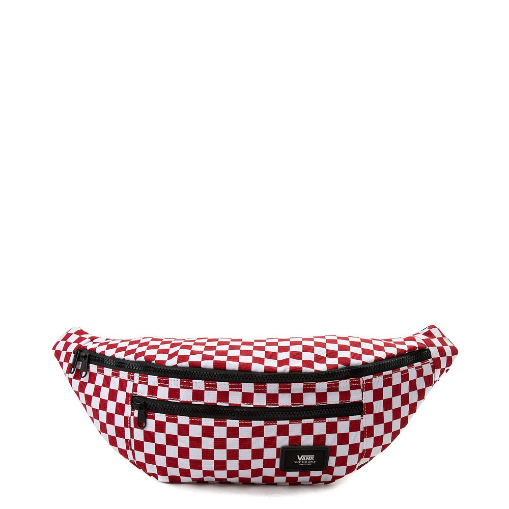 Vans Ward Checkered Travel Pack - Red / White