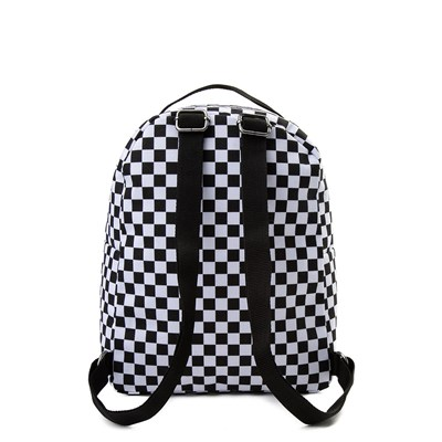 Alternate view of Vans Off the Wall Mini Checkered Backpack - Black / White