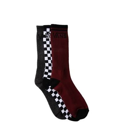 Main view of Mens Vans Logo Crew Socks 3 Pack