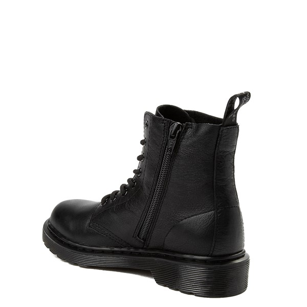 alternate view Dr. Martens 1460 Pascal 8-Eye Boot - Little Kid / Big Kid - BlackALT1