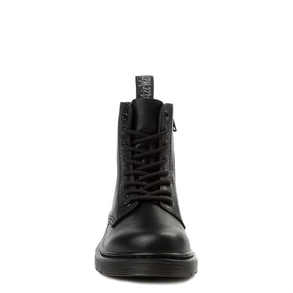 alternate view Dr. Martens 1460 Pascal 8-Eye Boot - Little Kid / Big Kid - BlackALT4