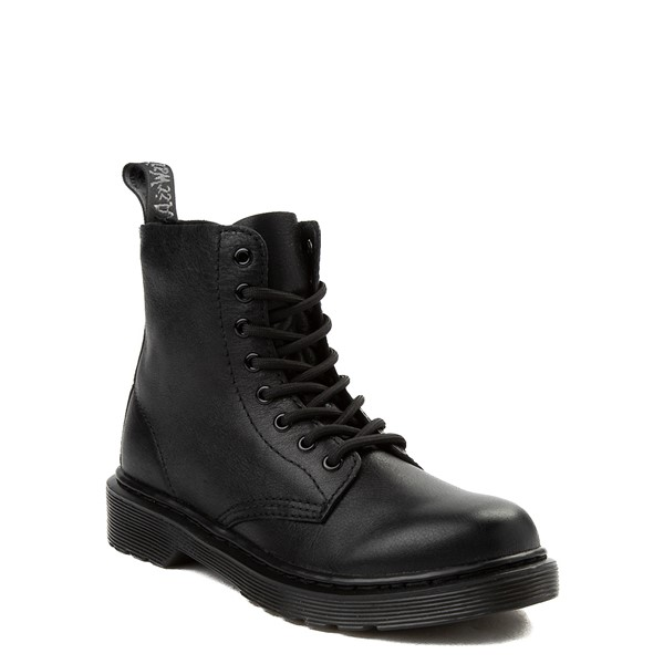 alternate view Dr. Martens 1460 Pascal 8-Eye Boot - Little Kid / Big Kid - BlackALT5