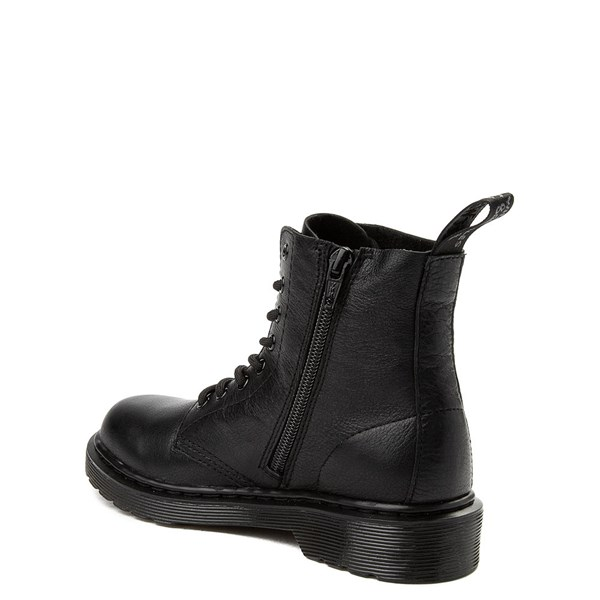 alternate view Dr. Martens 1460 Pascal 8-Eye Boot - Girls Little Kid / Big Kid - BlackALT2