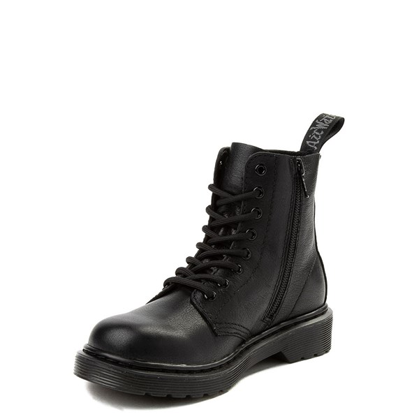 alternate view Dr. Martens 1460 Pascal 8-Eye Boot - Girls Little Kid / Big Kid - BlackALT3