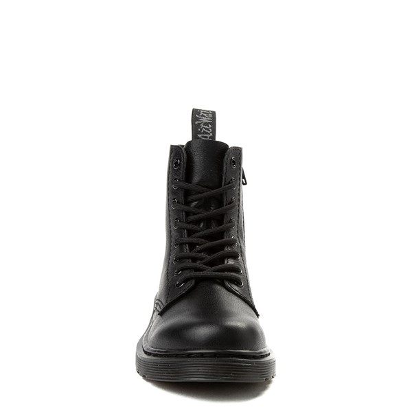 alternate view Dr. Martens 1460 Pascal 8-Eye Boot - Girls Little Kid / Big Kid - BlackALT4