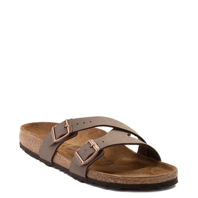 Alternate view of Womens Birkenstock Yao Sandal - Mocha