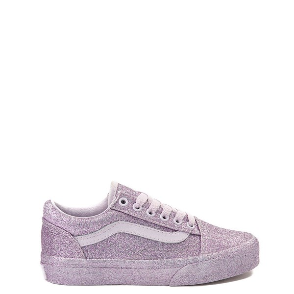 Default view of Vans Old Skool Glitter Skate Shoe - Little Kid