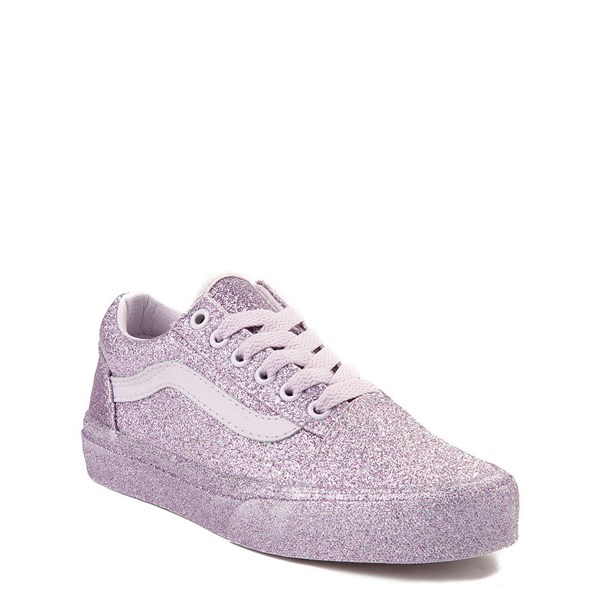 Alternate view of Vans Old Skool Glitter Skate Shoe - Little Kid