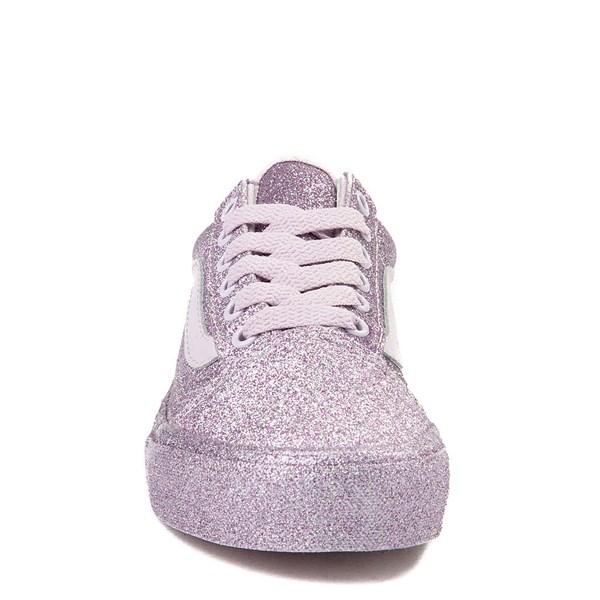 alternate view Vans Old Skool Glitter Skate Shoe - Little KidALT4