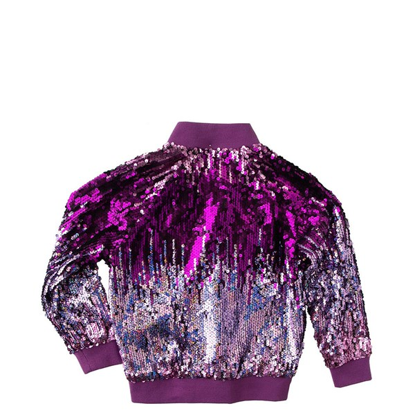 alternate view Sequin Bomber Jacket - Girls ToddlerALT1