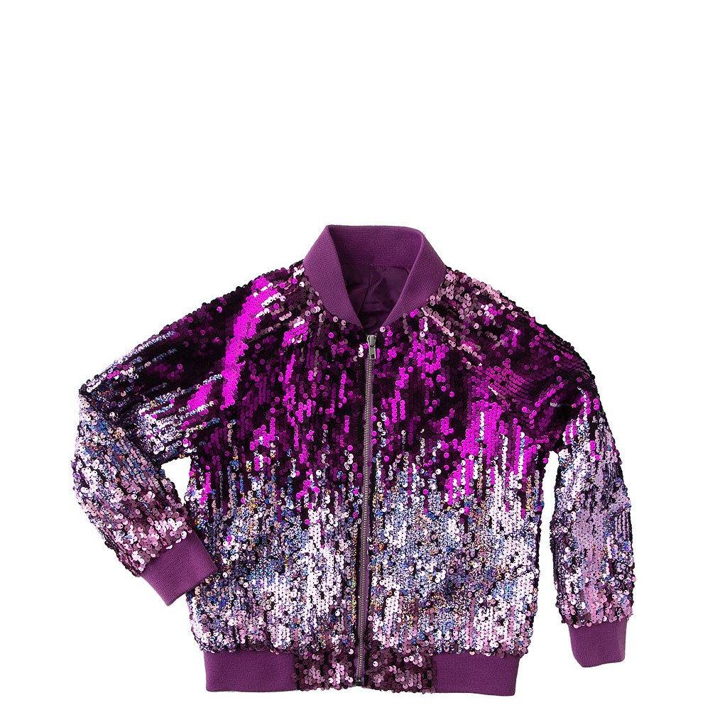 Sequin Bomber Jacket - Girls Toddler