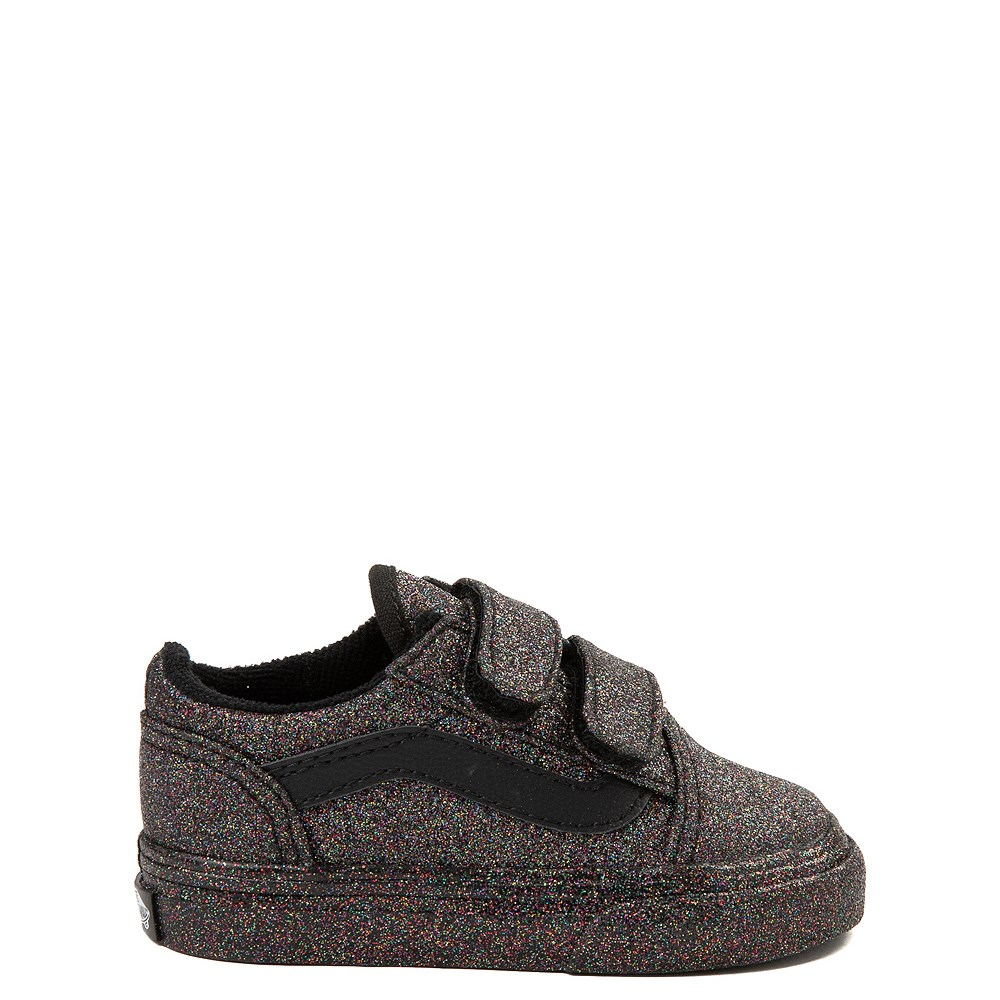 Toddler Vans Old Skool V Glitter Skate Shoe