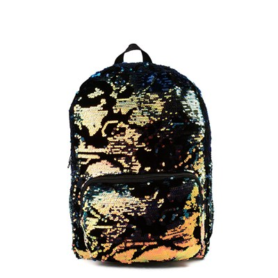 Velvet Two-Tone Sequin Backpack